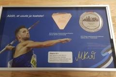 Magnus Kirt certificate