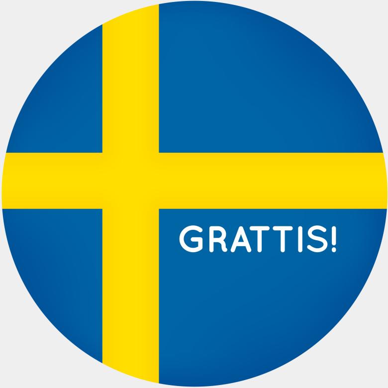 Grattis Sverige – Congratulations Sweden!