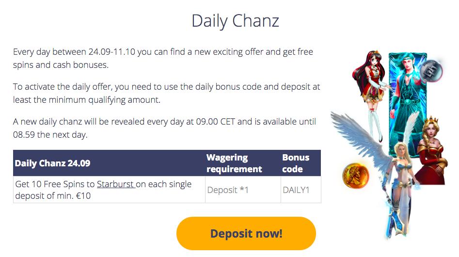 Take a Daily Chanz!