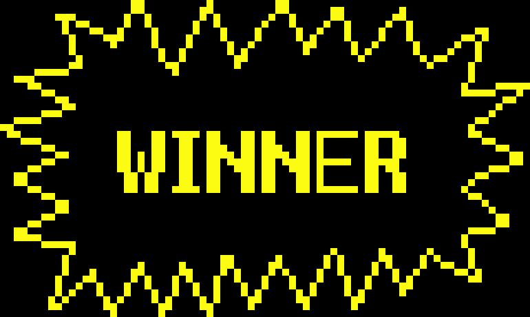 Blackjack competition winners