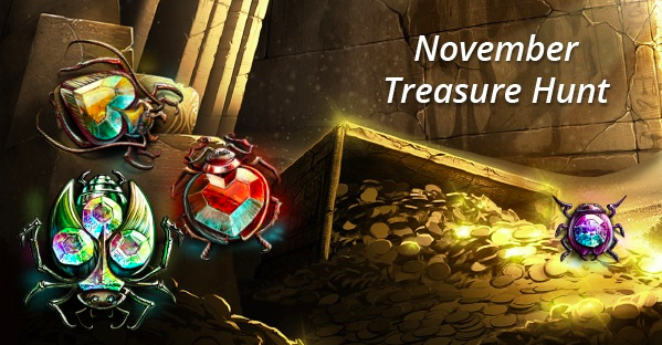 November Treasure Hunt