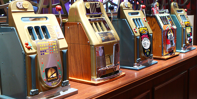 History of slotmachines