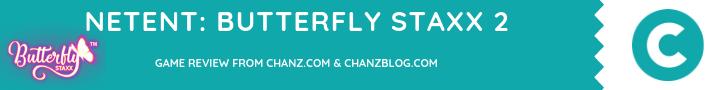 Butterfly Staxx 2 – NetEnt