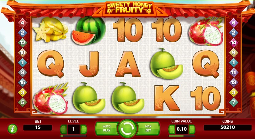 Sweety Honey Fruit NetEnt Freespins Casino