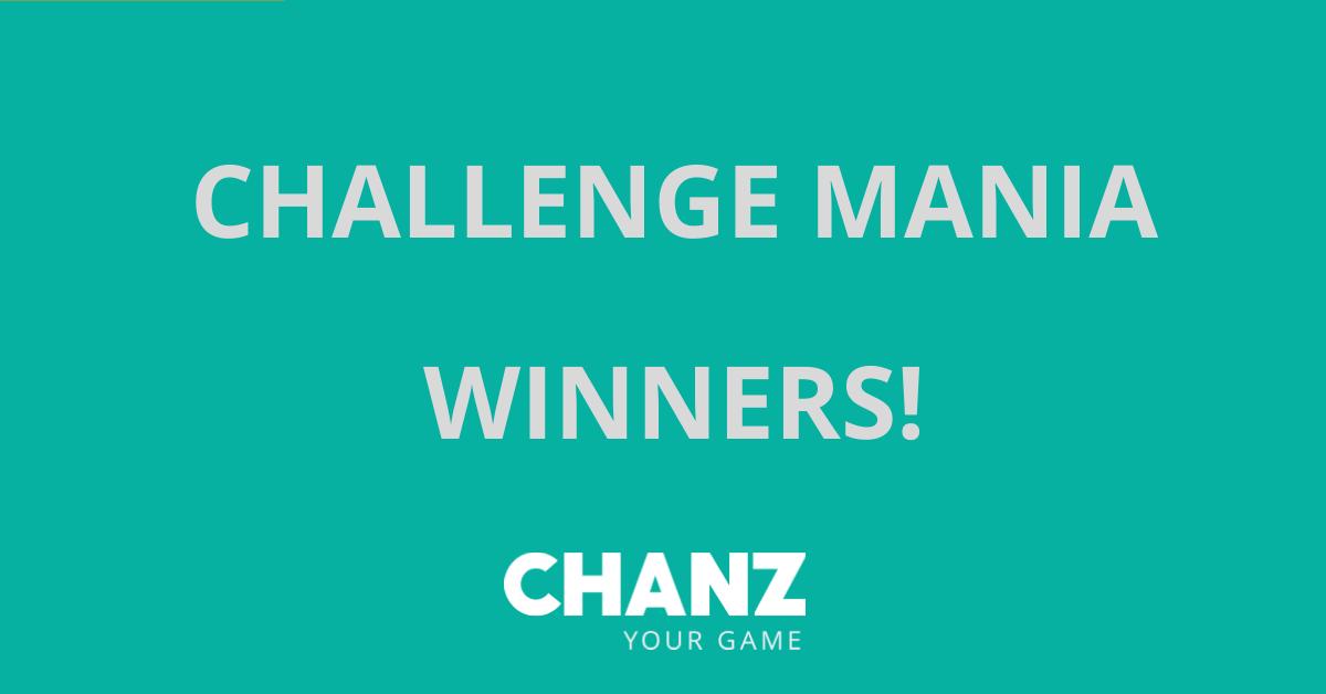 Challenge Mania – Winners