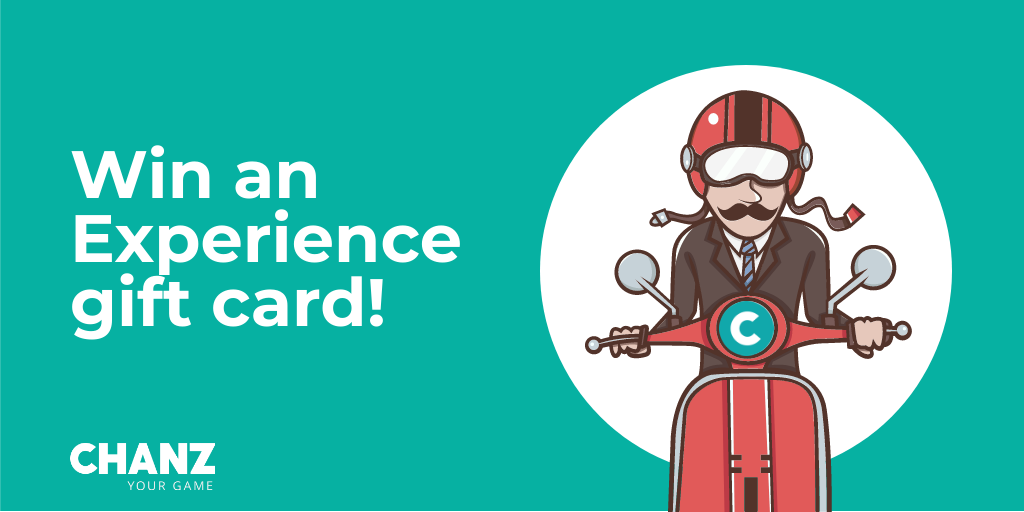 Win an Experience Gift Card!