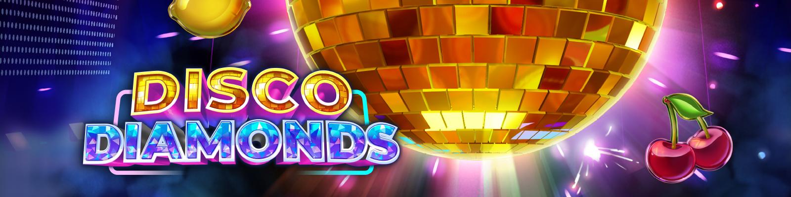 Disco Diamonds Play'n Go slot free spins bonus Chanz