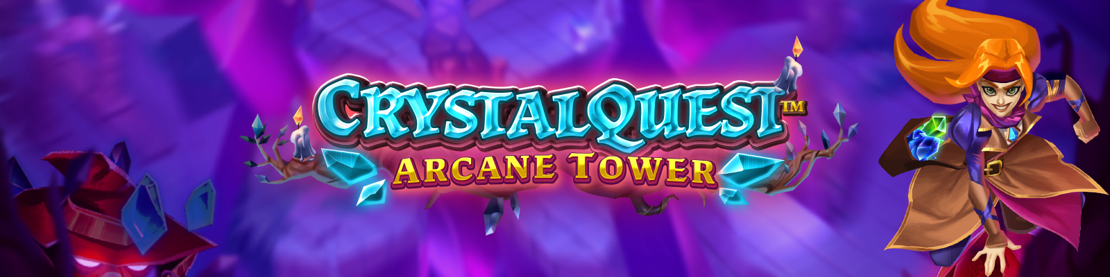 Crystal Quest: Arcane Tower from Thunderkick