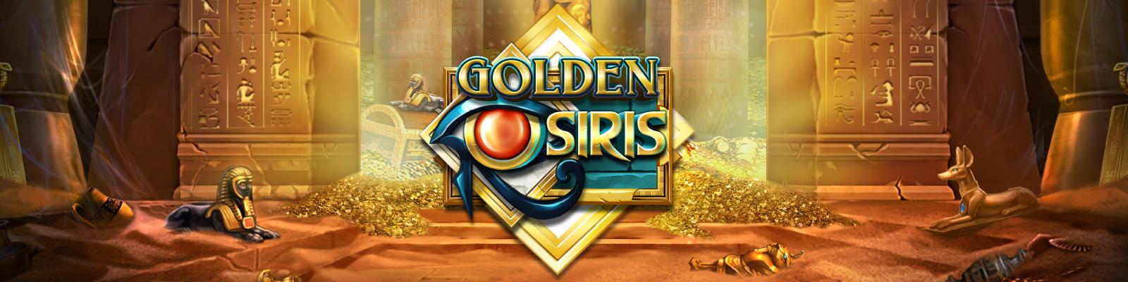 Golden Osiris from Play'n GO