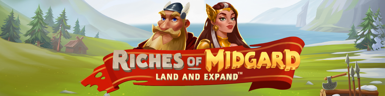 Riches of Midgard: Land and Expand from NetEnt