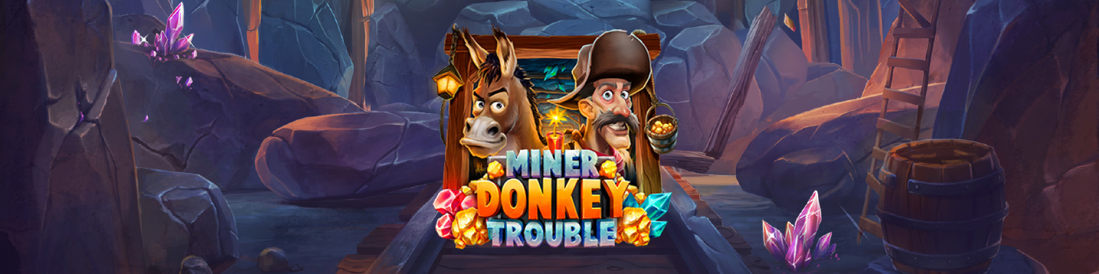 Miner Donkey Trouble from Play'n GO