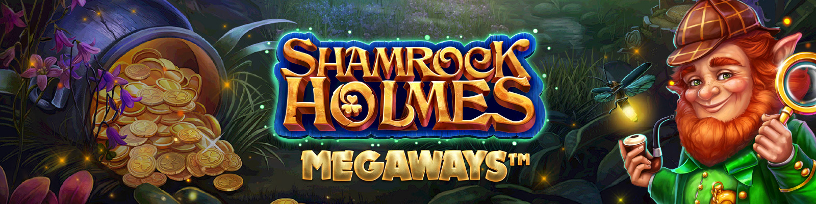 Shamrock Holmes Megaways from Microgaming