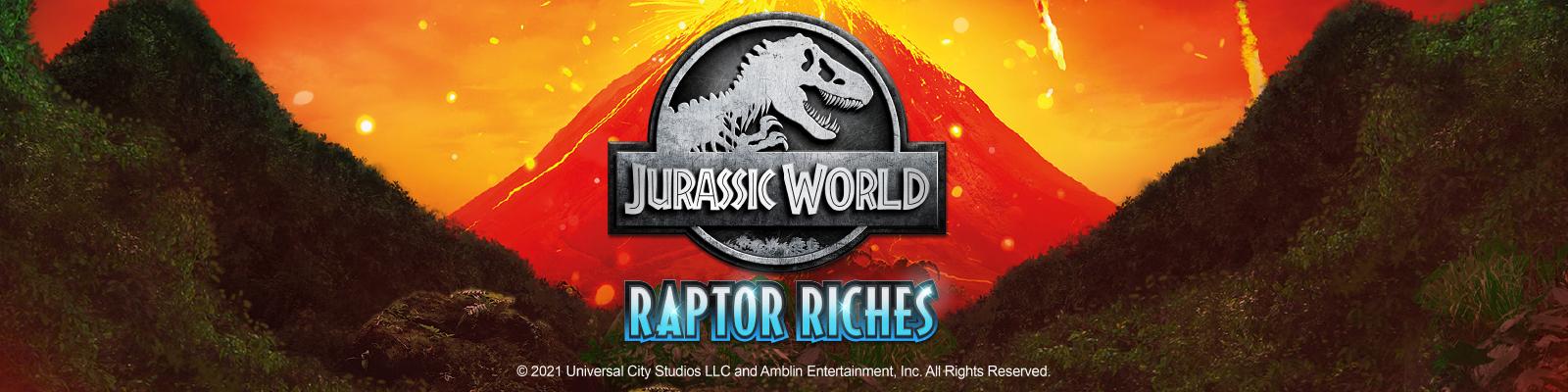 Jurassic World: Raptor Riches – Microgaming