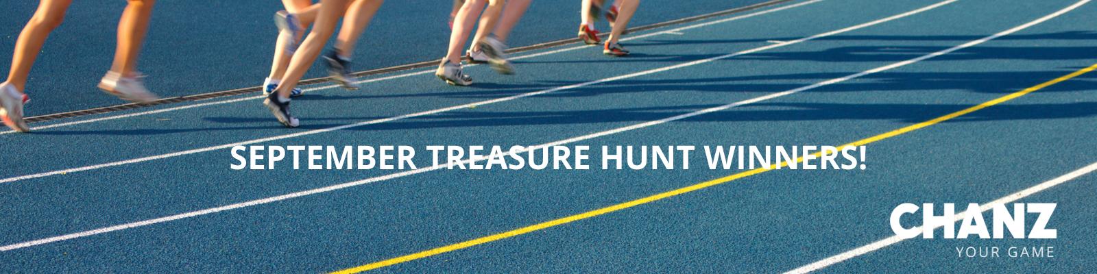 September Treasure Hunt Winners!